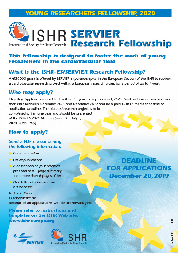 ISHR/Servier Fellowship poster